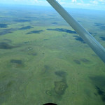 Mon, 06/02/2014 - 9:23am - The Rupununi Savannah in Guyana from the air. Photo by Andrew Short.