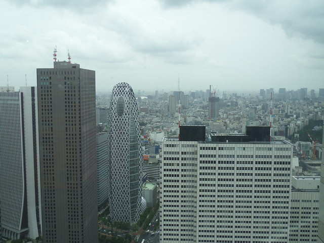 North Tower View of the Tokyo Metropolitan Government Building