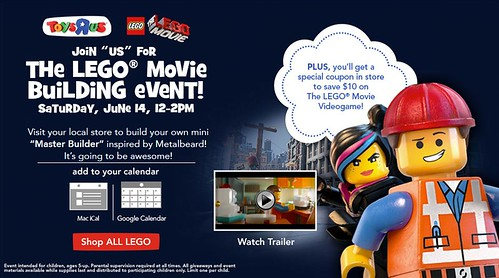 The LEGO Movie Build Event June 2014