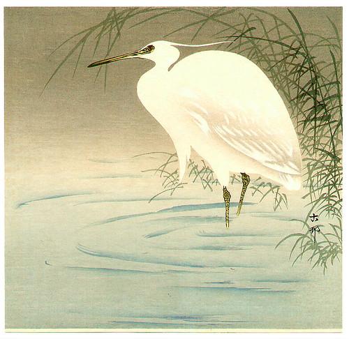 025-Garceta-1910-Ohara Koson -via-Ukiyu-e-org