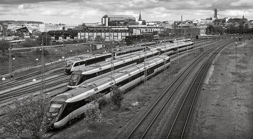 53mm aarhus danmark denmark lightroom poulwernerdam tog train udsigt view centraldenmarkregion