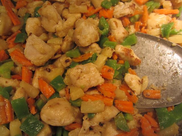 Stir-fried Chicken and Veggies