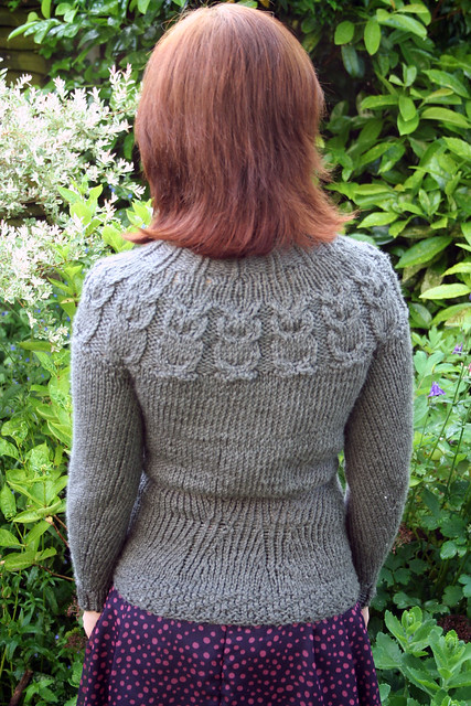 Handmade Kate Davies Owls Jumper