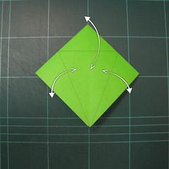 วิธีพับกระดาษเป็นรูปหอยทาก (origami Snail) 002