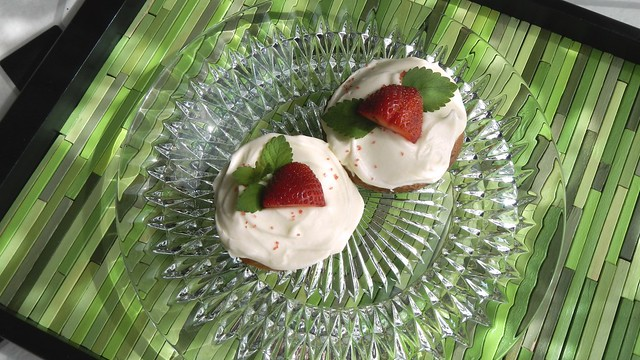 Strawberry Cheater Cupcakes 19