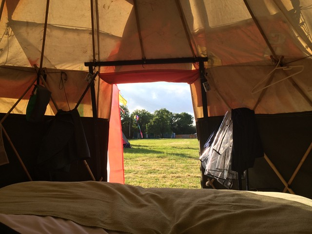 Wild Meadow Village - Glastonbury 2014