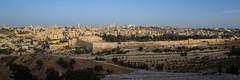 Lever du jour sur la vieille ville (Jérusalem)