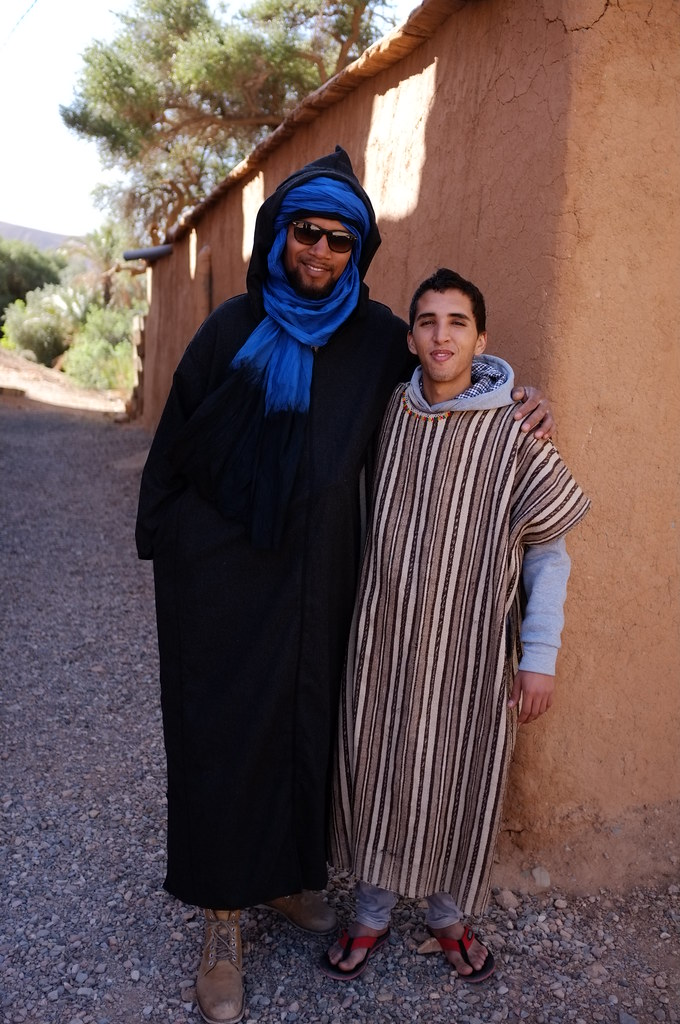 Steve and Ibrahim