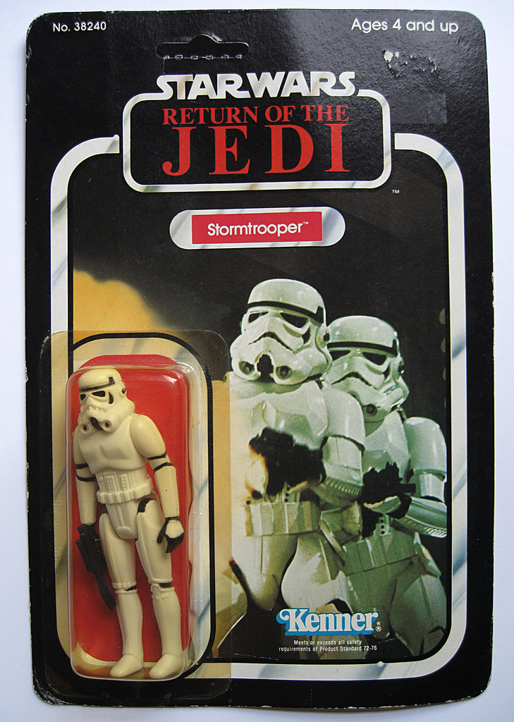 FS - Palitoy 12 back Die Cast card backs - loose figures & Polish Bootleg Silver Stormtrooper 14402975040_419d230775_b