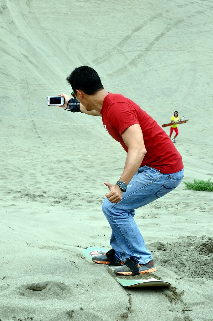 Marc Nelson at the Laoag La Paz Sand Dunes