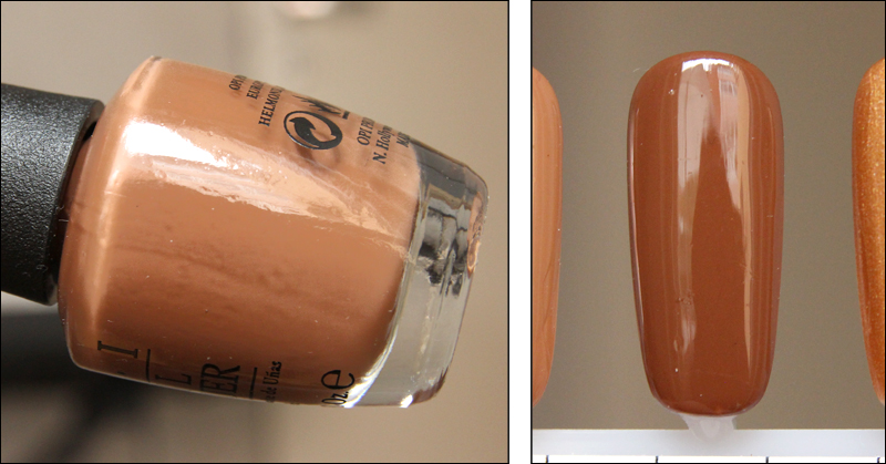 OPI Ice-bergers & fries swatch
