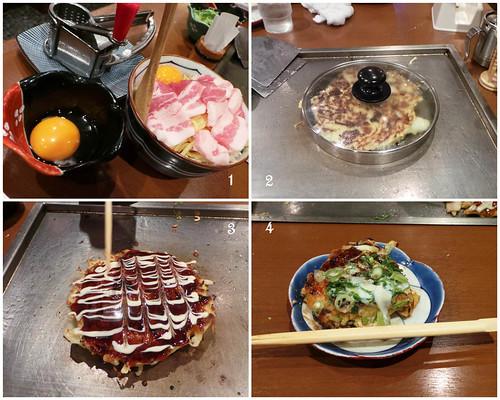 Okonomiyaki Process