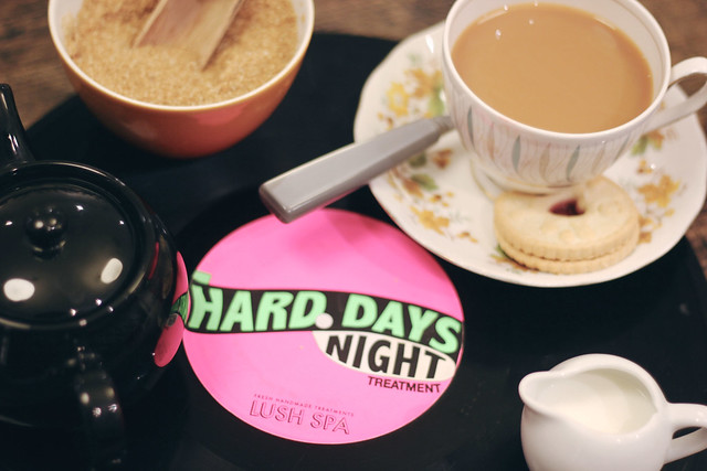 Lush Hard Days Night Treatment