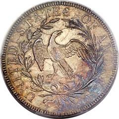 Norweb 1797 Half Dollar reverse