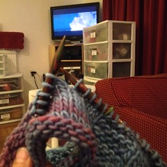 Day 18 - Gift Knitting and Thelma and Louise