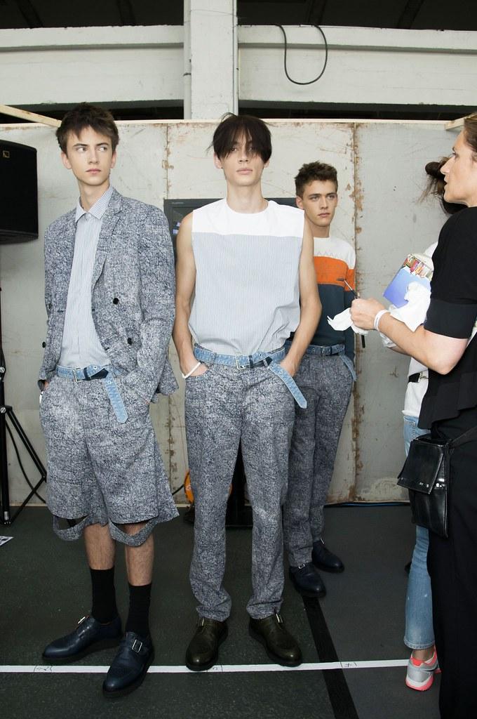 SS15 Paris Krisvanassche243_Karl Nalpas, Timur Simakov, Billy Vandendooren(fashionising.com)