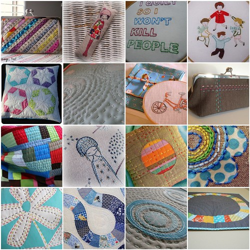 Inspiration Mosaic - The Big Stitch Swap