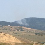 Wildfire in the Liberty Lake Area
