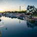 Coucher de soleil au Futuroscope ©Paul Tridon