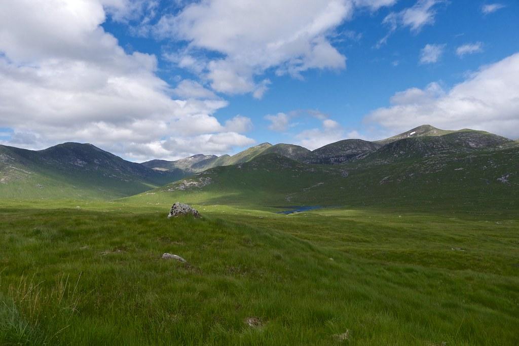 Ben Starav hills above Lochan na h-Iuraiche