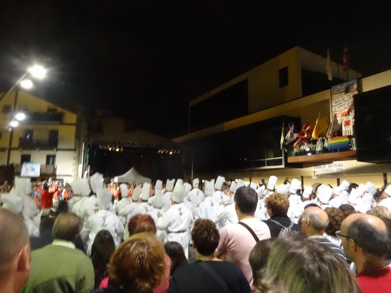 Festival in LaSarte.