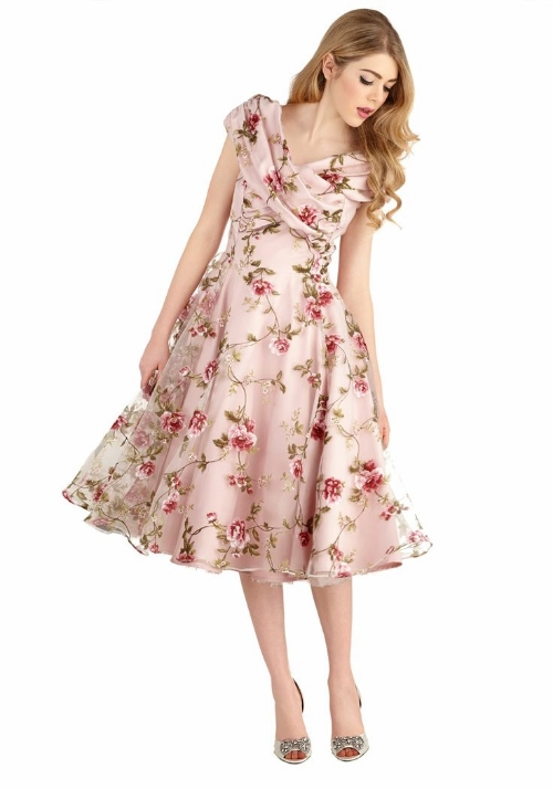 Modcloth Belle at the Reception Dress