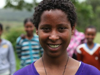 14 year-old Yeshalem from the Amhara region of Ethiopia underwent FGM/C
