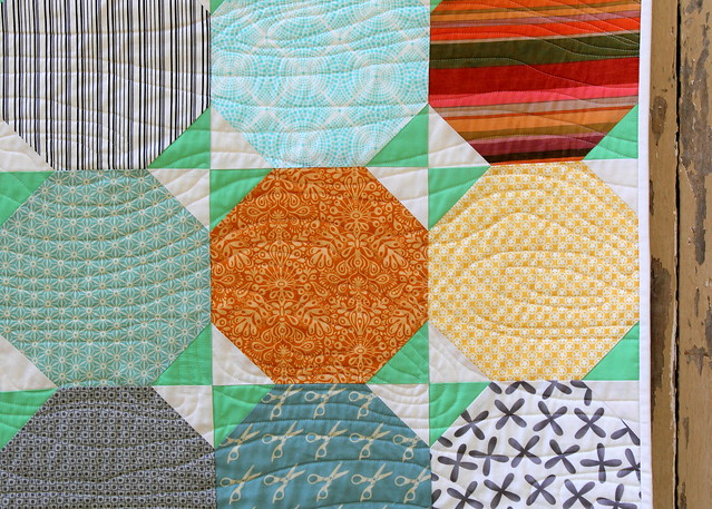 Snowball Quilt Tutorial - Finished Quilt Pic 5