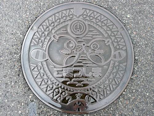Komatsushima Tokushima, manhole cover (徳島県小松島市のマンホール)