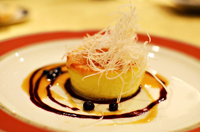 Bettamell cheese flan, Piccolo Lago