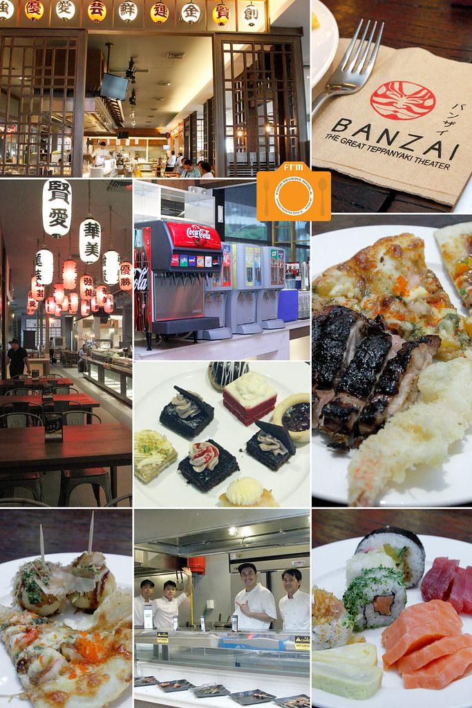 Banzai collage