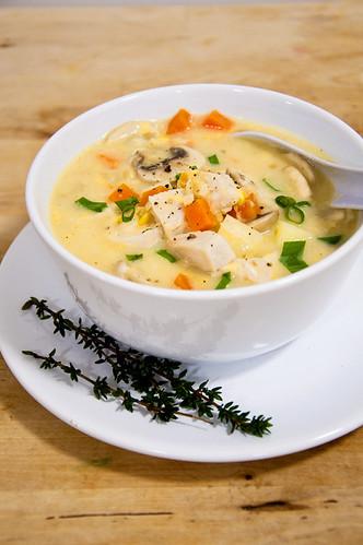 Chicken Corn Potato Chowder