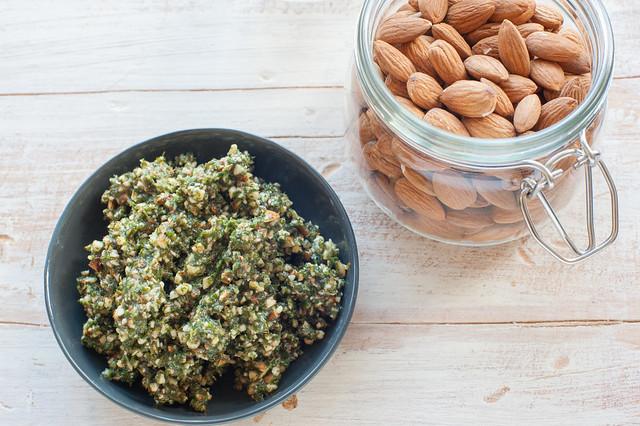 mint & almond pesto-2