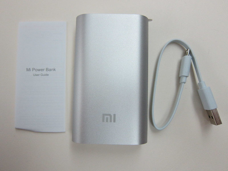 Xiaomi Mi 5,200mAh Power Bank - Box Contents