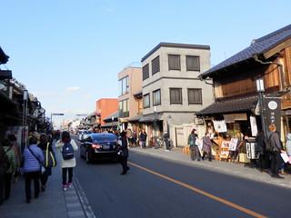 Japanese Storehouses Street in Kawagoe
