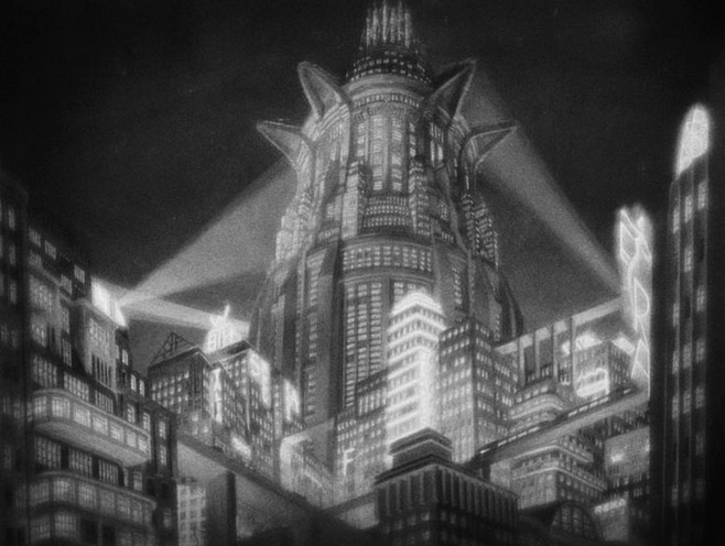 Film still of Metropolis (1927); Image courtesy Eureka Entertainment Ltd.