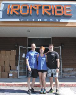 Andy Berman (Manager), Samantha Smith (Coach), Brian Smith (Coach)