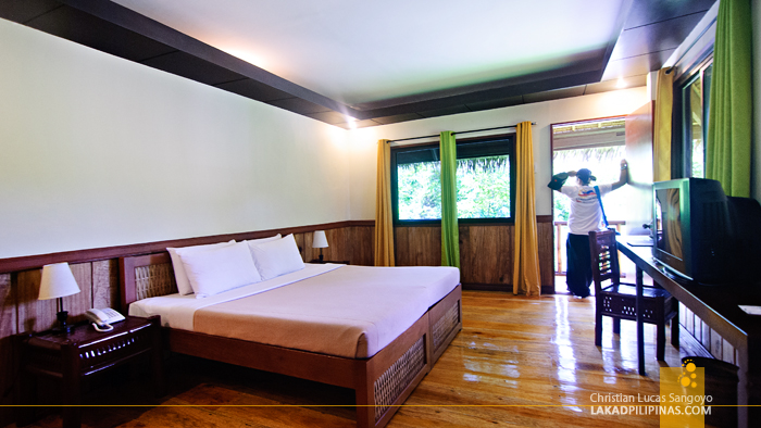 Regular Room at the Loboc River Resort in Bohol