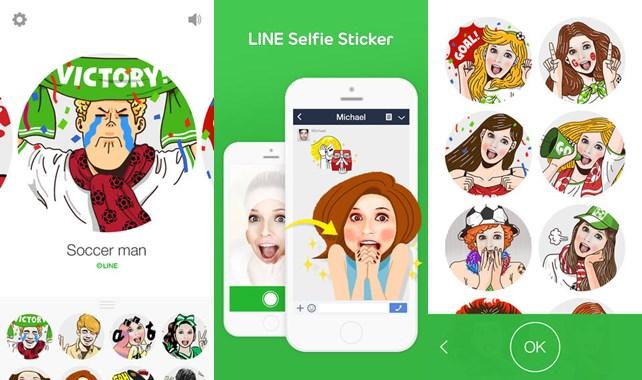 LINE-Selfie-Sticker