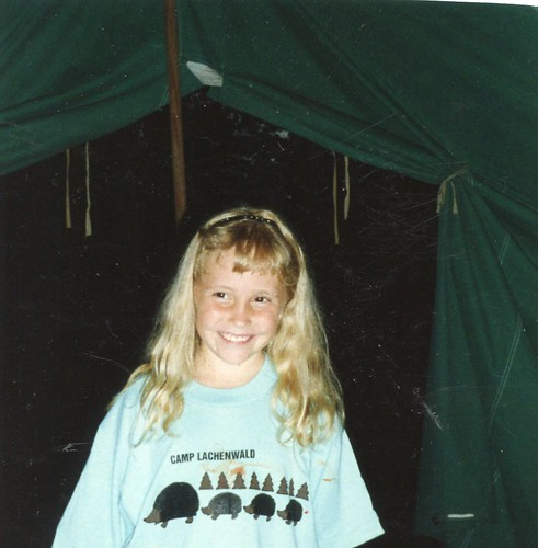 Brittny Flint-8 yrs old at Girl Scout Camp