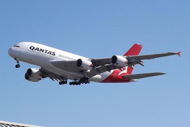 VH-OQC A380 Qantas