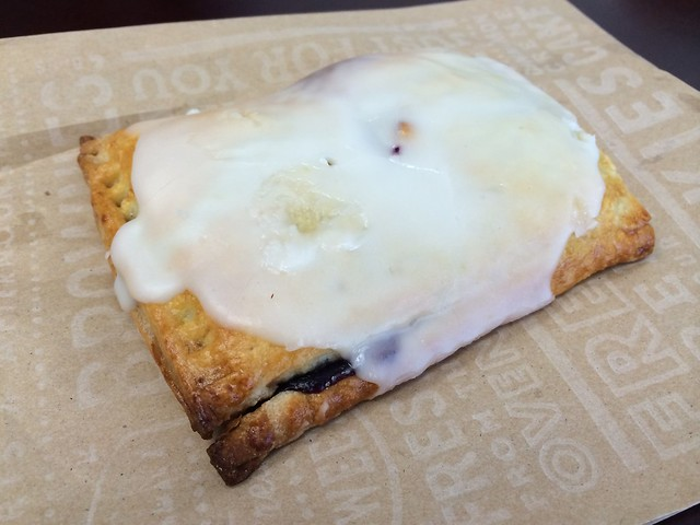 Blueberry hand pie - Corner Bakery Cafe