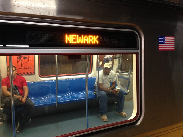 PATH Train to Newark