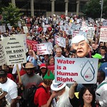 VIDEO: Protest march against Detroit water shutoffs