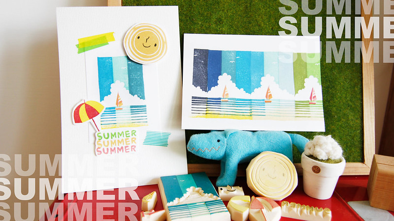 stamp studio for summer 2014