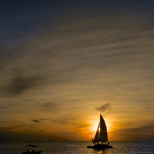 ocean light sunset sea sky usa nature colors beautiful clouds boat twilight sailing view florida sony keywest nex sonynex nex6 ilobsterit