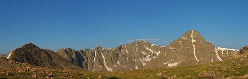 Mt of the Holy Cross Panorama from Notch Shelter