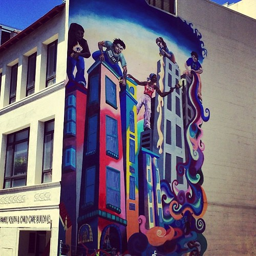 Mural in #sanfrancisco. #kategoestocalifornia