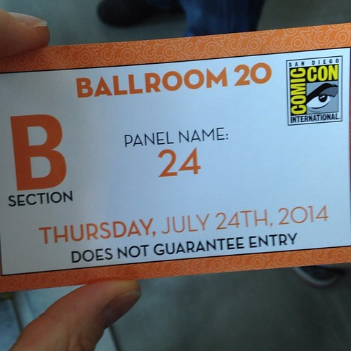 And so it begins. Ok, not really, I was here last night too ... #sdcc #br20