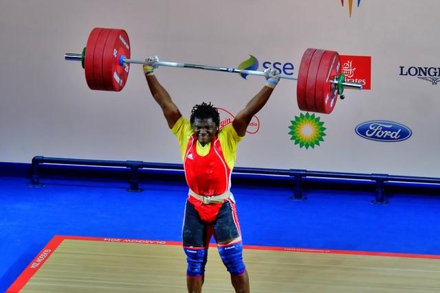 Petit Minkoumba (Cameroon) Weightlifting Commonwealth Games Glasgow